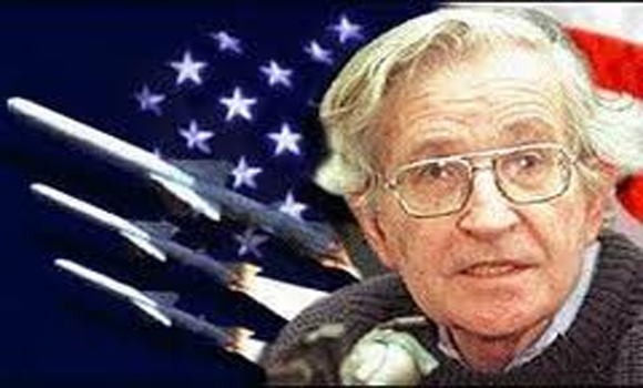 US, a leading terrorist state in world Chomsky