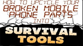 Infographic: Using Cell Phone Parts for Survival