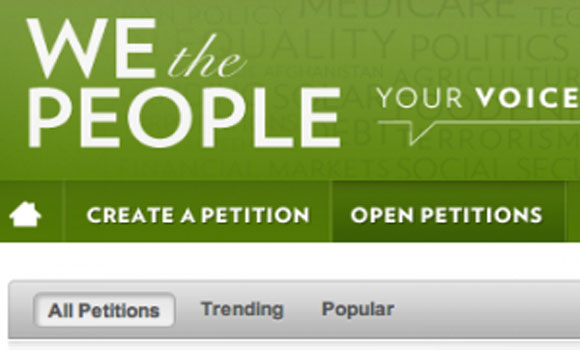 White House Raises Petition Threshold from 25K to 100K Signatures