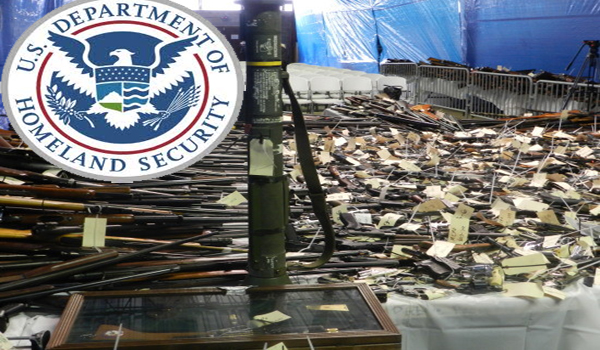 DHS Raids Gun Collector – Confiscates Nearly 1,500 Guns – No Charges Filed