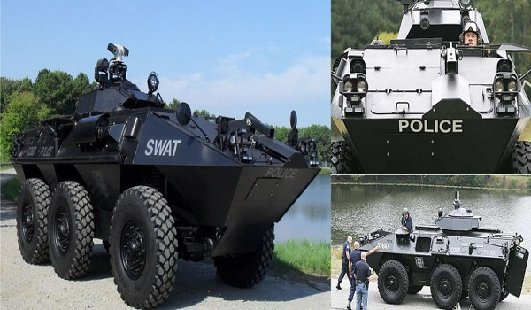 Georgia police acquired $200 million worth of military-grade vehicles and weapons through DoD