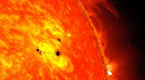 Giant sunspot that's SIX TIMES the diameter of Earth has formed in less than 48 hours – and could lead to solar flares