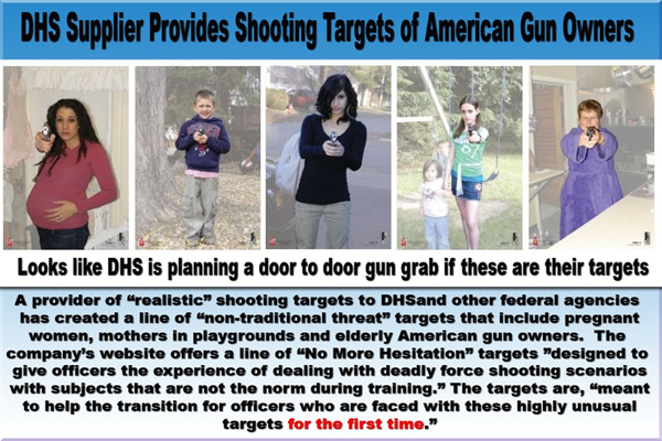 Is Your Local Police Department Using Pictures of Pregnant Women and Children for Target Practice