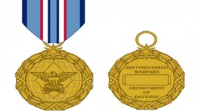 New medal for drone pilots outranks Bronze Star