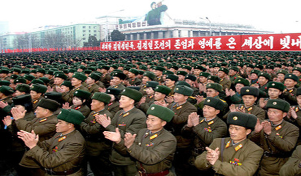 North Korea imposes martial law, orders troops to 'be ready for war'