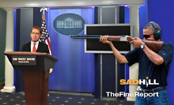 Obama 'Furious' Over White House 'Skeet Shooting' Photoshops® – Issues Executive Order To Prevent Future