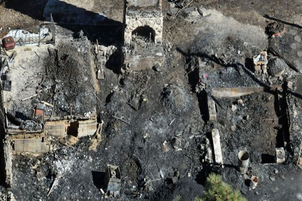 Police Ludicrously Claim Dorner Cabin Fire Was Not Intentional