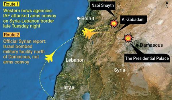 Rússia critica ataque israelense à Síria.  Forças dos EUA na Jordânia em alerta
