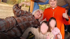 The picture Cardinal Keith O'Brien probably wishes he had never posed for: UK's top Catholic was long-standing friend of Savile