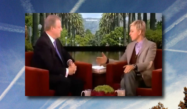 Video Al Gore Talks About Chemtrails on Ellen Show