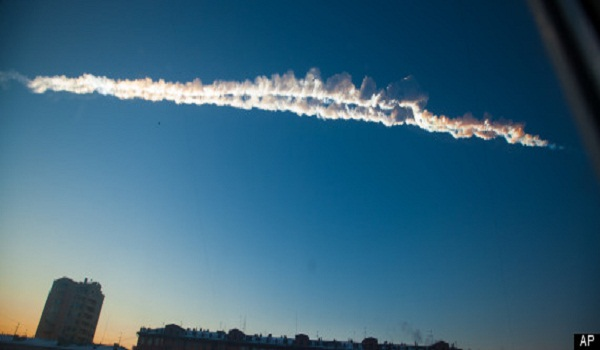 Video - Russian Meteor Conspiracy Theorists Claim Meteorite Was Shot Down By Military Missile