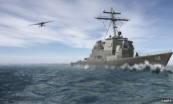 Darpa looks to use small ships as drone bases