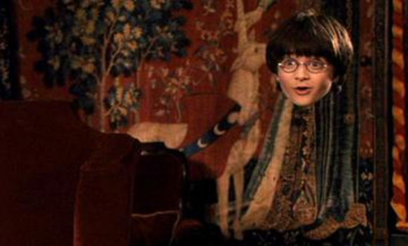 Harry Potter-Like Invisibility Cloak Works (in a Lab)