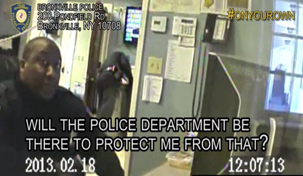 """Hidden Video Cops Nationwide Say """"You're On Your Own"""""""