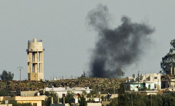 Israel Fires Missile Into Syria After Israeli Soldiers Come Under Attack