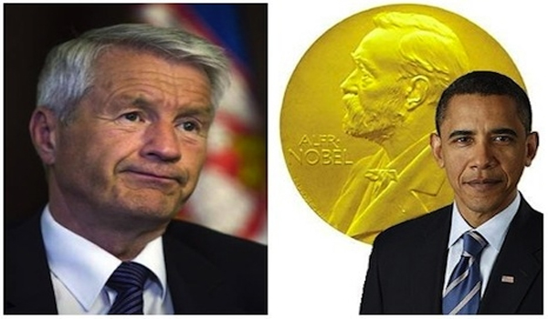 """Nobel Committee Asks Obama """"Nicely"""" To Return Peace Prize"""