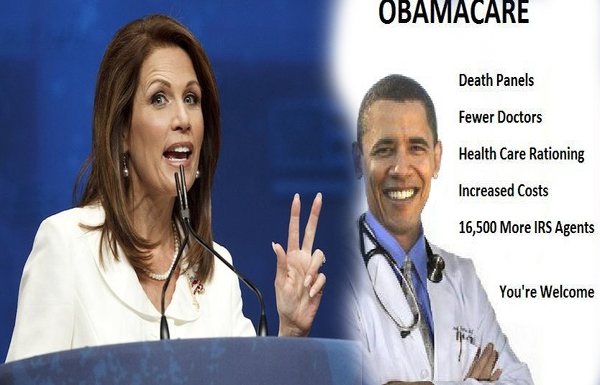 Obamacare Kills People 'Literally' Citizens' Reactions to Michele Bachmann's Congress Statement