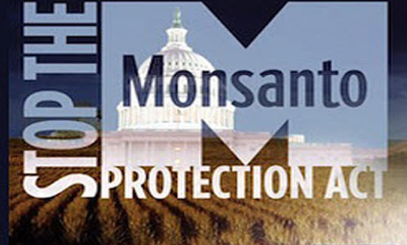 Stop the Monsanto Protection Act - Last Chance