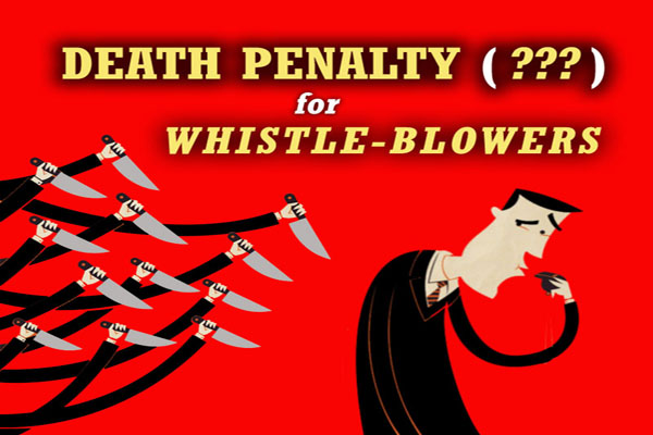 'To whistleblow is like a death sentence' five people who risked everything to speak out