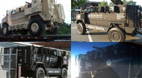 Video: Hundreds Of DHS Armored Trucks On The Move?