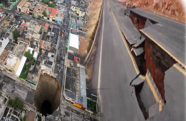 Why Are Giant Sinkholes Appearing All Over America Is Something Happening To The Earth's Crust
