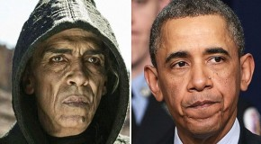 Why does the devil in 'The Bible' look exactly like President Obama?