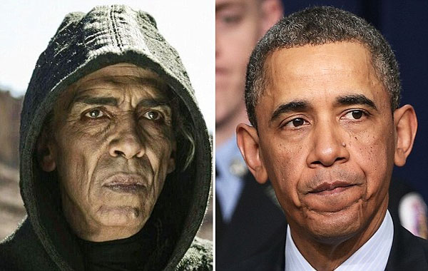 Why does the devil in 'The Bible' look exactly like President Obama