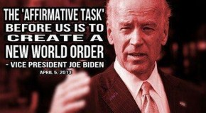 Biden calls for 'new world order'