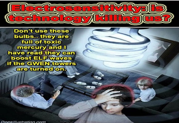 Electrosensitivity is technology killing us