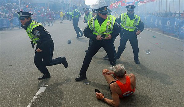 """Eyewitness Authorities Announced """"Drill"""" Before Boston Explosions"""