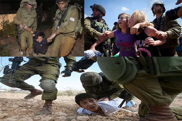 Mistreating Palestinian Children