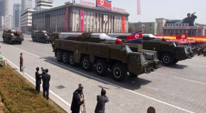 N. Korean Missile Launchpad moved into Firing Position