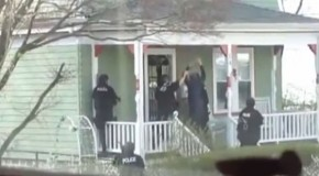 Shocking Footage: Americans Ordered Out Of Homes At Gunpoint By SWAT teams