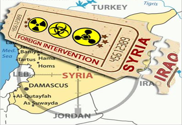 Target Syria Allegations of Chemical Weapons Use