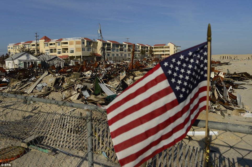 Tens of thousands still homeless six months after Hurricane Sandy as some areas will take years to fully recover