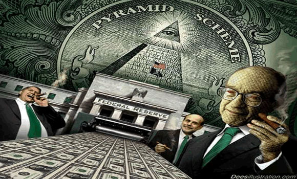 The Dollar Economy is a Pyramid Scheme Who Gets Screwed