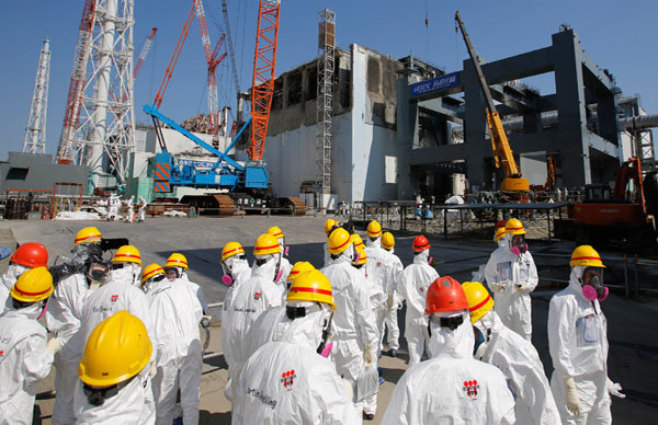Three of seven Fukushima tanks leaking radioactive water