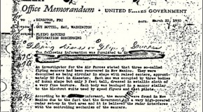 UFO Memo Is FBI&#8217;s &#8216;Most Wanted&#8217; Record