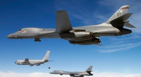 US Secretly Deploys B-1 Strategic Bombers, E-6 &#8220;Doomsday&#8221; Planes Near North Korea
