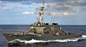 US deploys second destroyer closer to North Korea coast