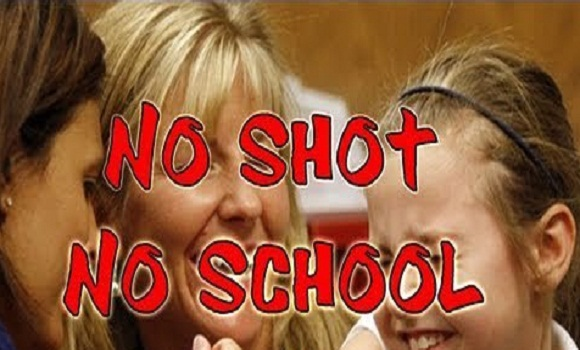1,700 Kids Threatened with Suspension Get Vaccinated or Get Out!