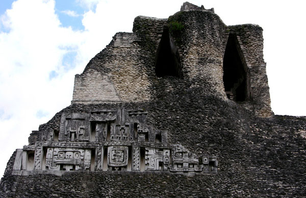 Ancient Mayan Pyramid destroyed by Construction Company in Belize
