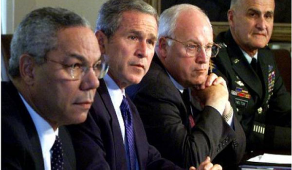 Bush and His Aides Made 935 False Statements about Iraq In the 2 Years After 9 11