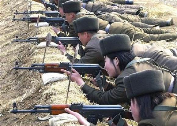 China Orders Troops and Tanks to North Korean Border
