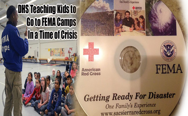 Department of Homeland Security Teaching Kids To Go To FEMA Camps In a Time of Crisis