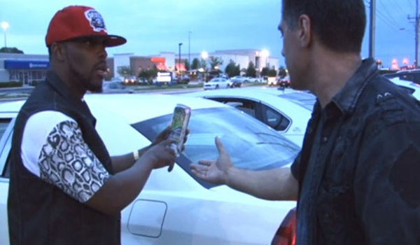 Man Drinking Iced Tea In Parking Lot Gets Arrested