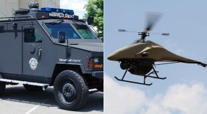 Police Drone Crashes into Police