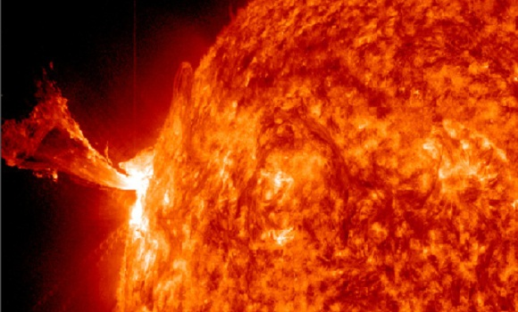 Two M-class solar flares in a row – M1.3 followed by strong M5.7