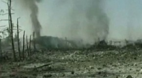 Israel used depleted uranium shells in air strike  Syrian source