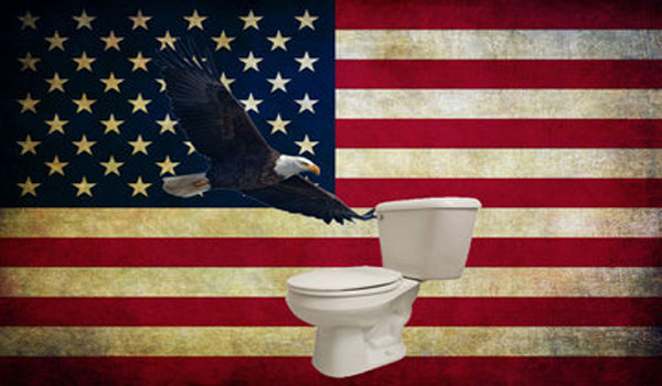 20 Examples Of How America Is Rapidly Going Down The Toilet